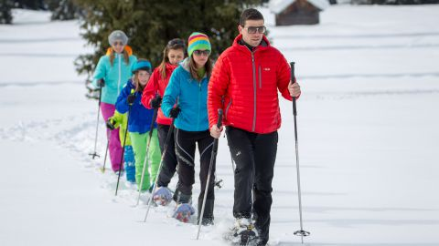 Image: Family holidays in winter